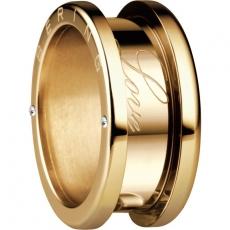 Damenring - BERING 520-20-X4 - Edelstahl Gelb vergoldet, Zirkonia