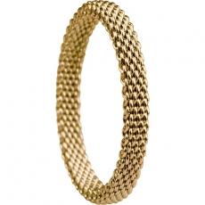 Damenring - BERING 551-20-X1 - Edelstahl IP Gold, ohne Stein