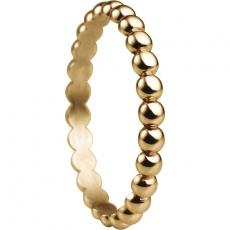 Damenring - BERING 552-20-X1 - Edelstahl IP Gold, ohne Stein