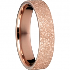 Damenring - BERING 557-39-X2 - Edelstahl Rosé vergoldet, ohne Stein