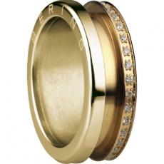 Damenring - BERING 599-3222-X3 - Edelstahl IP Gold, ohne Stein