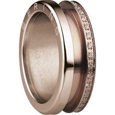 Damenring - BERING 599-3323-X3 - Edelstahl Rosé vergoldet, ohne Stein