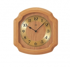 Wanduhr - AMS 5801-5 - Funk, Holz
