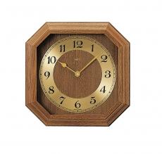 Wanduhr - AMS 5864-4 - Funk, Holz