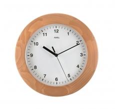 Wanduhr - AMS 5904-18 - Funk, Holz