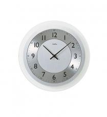 Wanduhr - AMS 9066 - Quarz, Glas/Metall