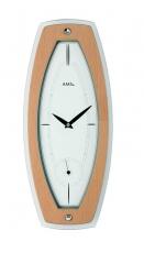 Wanduhr - AMS 9357 - Quarz, Holz