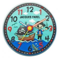 Wanduhr - Jacques Farel WAL 05 - Quarz, Kunststoff