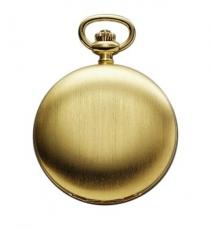 Taschenuhr - REGENT P015 - Quarz, Stahl IP Gold