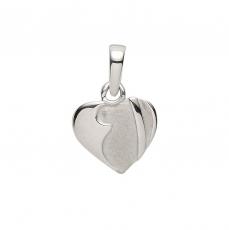 Anhänger - Gerry Eder 21.1143S - 925/- Silber, ohne Stein, Herz