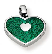 Anhänger - Gerry Eder 21.9037G - 925/- Silber, ohne Stein, Herz