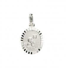 Anhänger - Gerry Eder 22.203 - 925/- Silber, ohne Stein, Schutzengel