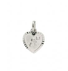 Anhänger - Gerry Eder 22.207 - 925/- Silber, ohne Stein, Schutzengel