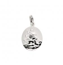 Anhänger - Gerry Eder 22.220 - 925/- Silber, ohne Stein, Schutzengel
