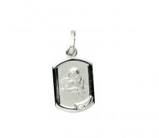 Anhänger - Gerry Eder 22.226 - 925/- Silber, ohne Stein, Schutzengel
