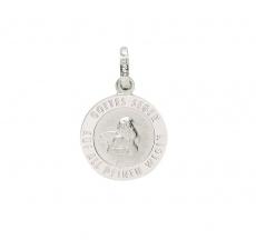 Anhänger - Gerry Eder 22.237 - 925/- Silber, ohne Stein, Schutzengel