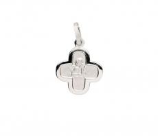 Anhänger - Gerry Eder 22.239 - 925/- Silber, ohne Stein, Schutzengel