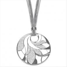 Collier - BOCCADAMO XGR090 - Lamé/Bronze, ohne Stein