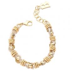 Armband - BOCCADAMO XBR037D - Bronze Gelb vergoldet, ohne Stein