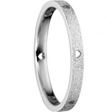 Damenring - BERING 558-19-X1 - Edelstahl, ohne Stein