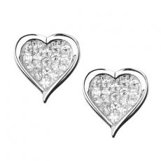 Ohrstecker - silver trends ST834 - 925/- Silber rhodiniert