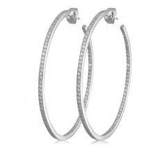 Creolen - silver trends ST045 - 925/- Silber