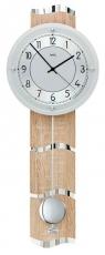 Wanduhr - AMS 5214 - Funk, Holz/Aluminium