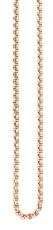 Kette/Anker - Traumfänger SC063R70 - Edelstahl Rosé vergoldet, Karabiner