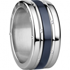 Damenring - BERING 520-10-X4_560-17-X0_554-70-X1 - Edelstahl/Keramik, Zirkonia