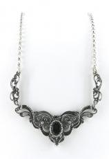 Collier - 925/- Silber, Granat