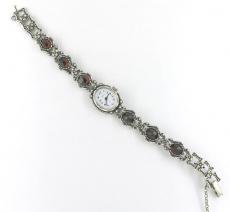 Damenuhr - Quarz, Silber