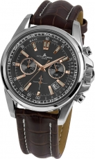 Herrenuhr - Jacques Lemans 1-1117.1WN - Chronograph, Edelstahl