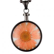 Anhänger - blumenkind BL01MGROR - Edelstahl, Blume