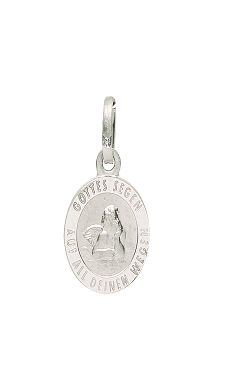 Anhänger - Gerry Eder 22.236 - 925/- Silber, ohne Stein, Schutzengel