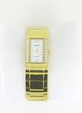 Damenuhr - REGENT Quarz, IP Gold