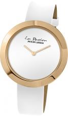 Damenuhr - Jacques Lemans LP-113D - Quarz, Stahl IP Gold
