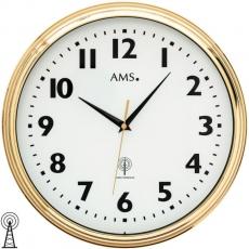 Wanduhr - AMS 5963 - Funk, Metall
