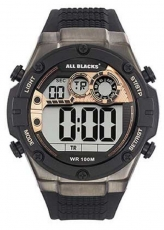 Herrenuhr - All Blacks 680333 - Quarz, Kunststoff