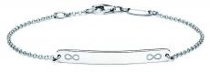 Identitäts-Armband/Anker rund - silver trends STG006 - 925/- Silber rhodiniert