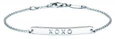 Identitäts-Armband/Anker rund - silver trends STG012 - 925/- Silber rhodiniert