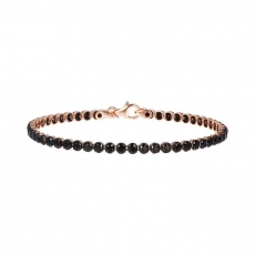 Armband - Bronzallure WSBZ00576SHBS - Bronze vergoldet, Spinel