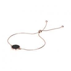Armband - Bronzallure WSBZ01206BS - Bronze Rosé vergoldet, Spinel