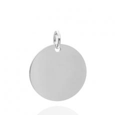 Anhänger - Kesef 6155 - 925/- Silber, Gravurplatte