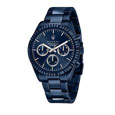 Herrenuhr - Maserati R8853100025 - Quarz, Stahl IP Blau