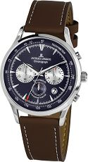 Herrenuhr - Jacques Lemans 1-2068C - Chronograph, Edelstahl