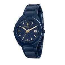 Herrenuhr - Maserati R8853141001 - Quarz, Stahl IP Blau
