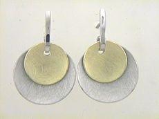 Ohrhänger - Max Fröhlich 21-208 - 925/- Silber Gelb vergoldet
