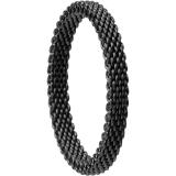 Damen-/Herrenring - BERING 551-60-X1 - Edelstahl IP schwarz, ohne Stein