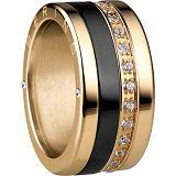 Damenring - BERING 520-20-X4_554-60-X1_556-27-X1 - Edelstahl Gelb vergoldet, Zir