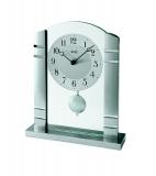 Tischuhr - AMS 1118 - Quarz, Glas/Metall
